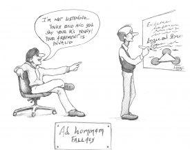 Ad-Hominem-Fallacy