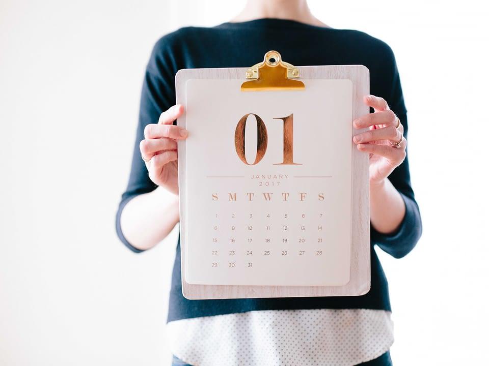 Annual reports calendar